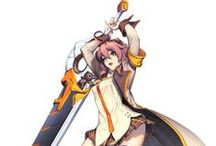 Sword Action Pose/anime
