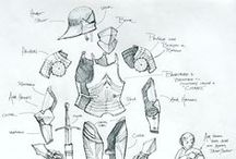 Plate armor parts reference