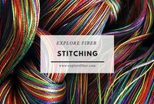 Stitching / Explore the most basic fiber process and all of its variations - stitching.