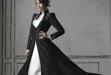 Black&White Dresses/Čiernobiele Šaty