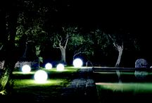 Light Collection / There you have the light version of our collection, enlightened from the inside, great on shining your in and outdoor locations.