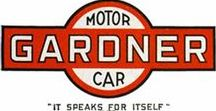Classic Marques - Gardner / Gardner was an automobile maker based in St. Louis, Missouri between 1920 and 1931. The Gardner Motor Company was established with Russell E. Gardner, Sr. as chairman of the board, Russell E. Gardner, Jr. as president, and Fred Gardner as vice-president. Their previous experience had been in the assembling of cars, so it was not surprising that the Gardner was assembled from bought-in parts. Lycoming engines were used throughout the years of production.