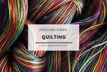 Quilting / Explore the transformation of fabric into quilted expressions.