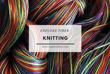 Knitting / Explore the transformation of fiber into knitted expressions.