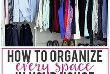 Cleaning and Organization