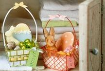 Easter Basket Ideas and Themes / Whether it's filled with beautifully dyed eggs or delicious chocolate ones, wow your children this Easter with a perfectly put together basket.