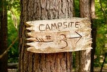 Camping / Camping ideas and camper decorating.