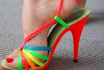 Colorful Heels, Beautiful! / Bright colored heels, for women who love to play, but still be a lady. / by LouBou10 Toes