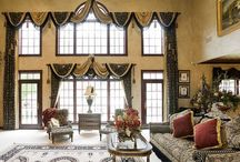 Privacy screens/window treatments / by A.m. Jung