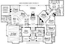 ❥ Home: Open Floor Plans