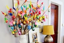 Easter Decor Ideas / Make your home the Easter Bunny's favorite on your block with these simple Easter Decor Ideas.