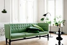 Mint / Create a fresh look for summer with home acessories and furniture in gorgeous mint green