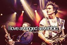 Avenged Sevenfold / by Amanda Favreau