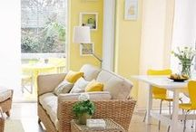 Sunshine / You are my sunshine, my only sunshine! Inject some bursts of yellow into your home for a sunny, warm feel