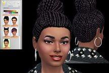TS4 - Female Hair / ts4 hair, the sims 4