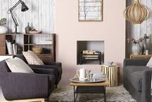 Scandi crush / The Scandi trend is as old as the hills that inspired it, but we love the new lease of life it's been given with the injection of pale pinks, mint green and yellow...