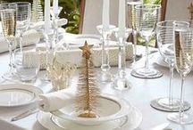 Christmas dining / Beautiful ideas for your festive dining table