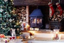Christmas living rooms / Beautiful ideas for fabulous Christmas living rooms.