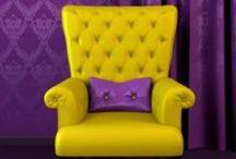 Lavender und Purple