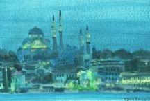 Peintures à l'acrylique / Mes peintures à l'acrylique 2012 à maintenant
