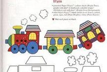 cartamodelli mezzi di trasporto