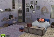 TS4 - Bedroom / ts4, ts4cc, the sims 4, bedroom