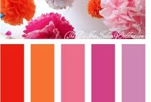 Kleur - Pienk en Oranje