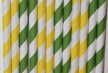 Kleur - Groen en geel
