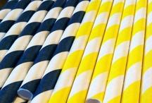 Kleur - Blou en geel
