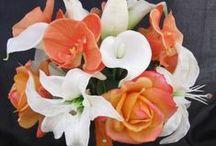 Kleur - Oranje en wit