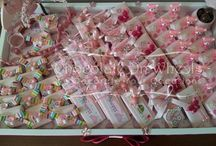 Baby shower ideas- Pink / Baby shower giveaway ideas - Pink
