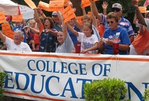 Alumni, Pin Your Pride! / EduGator alumni can be found throughout the country AND world! The education and world-class experiences gained during time at the UF College of Education has produced generations of successful leaders and educators.