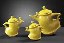 Unique Teapots and cups / Tea is beautiful and amazing on its own, but so are the teapots that it is brewed in.