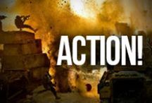 Action! / Insane car chases, extreme stunts and death-defying fight scenes. Anchor Bay Action movies have it all!