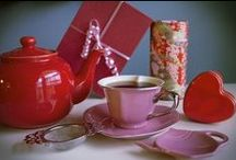 Valentines Tea / Happy Valentines Day! Give the gift of tea for a sweet, healthy, and unique treat for your loved one