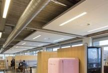 Quick-Lock Insula / A complete range of standard solutions for unique ceiling islands. The modularly configured Insula range can be used to create acoustic ceiling islands in an almost infinite number of different permutations.