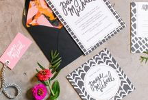 Wedding Invites + Stationery