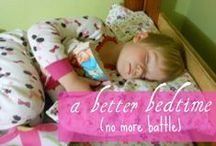 Bedtime Tips and Tricks for Parents / A collection of helpful hints and information for making bedtime easier for parents and kids.