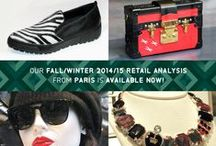FALL/WINTER 2014/15 RETAIL ANALYSIS FROM PARIS / Our Fall/Winter 2014/15 Retail Analysis from Paris is now available!  Subscribe to Colour & Trends today!  http://www.colourandtrends.com/