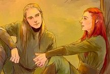 Tauriel <3 Legolas / Legolas and Tauriel SHIPPED!!! IF you ship them please join!! just follow the board and comment! LET'S BUILD OUR LEGRIEL ARMY!