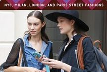 FALL 2014 STREET FASHIONS / The idea of what real people are responding to and wearing is always insightful, so we also took a look at Street Fashions in New York, London, Milan and Paris.  Subscribe to Colour & Trends today!  http://www.colourandtrends.com/
