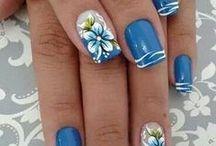 Köröm (Nails) / körömfestés különböző stílusban.