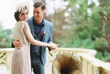 Great Gatsby Wedding Inspiration / A load of beautiful 1920s Great Gatsby wedding inspiration.