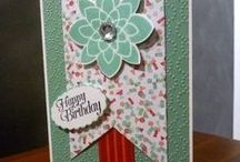 My Stampin' Up! cards / cards and items made from stampin' Up Products