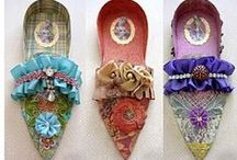 Female Shoes Collection / Artistic creations, original, fantastic, modern and ancient.