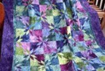 Quilts - Blue,Purple,Green / by Rebecca