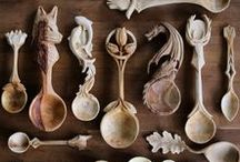 Wood Carving & Sculpture / Check out these carved wood pieces. What amazing art forms! We love it when people get creative with wood. General Finishes has the perfect wood finish for your art - www.GeneralFinishes.com.