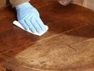 Restore & Repair Wood Furniture / Restore a wood furniture wreck into a statement piece or simply attend to some minor fixes with these tips. www.GeneralFinishes.com