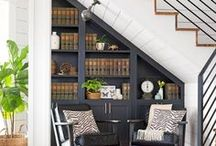 Unwasted Spaces / Looking for storage and closet space? Look around your home for areas that can be repurposed. www.GeneralFinishes.com