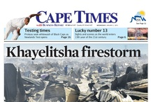 Front Pages | January 2013 / Follow Cape Times one front page at a time